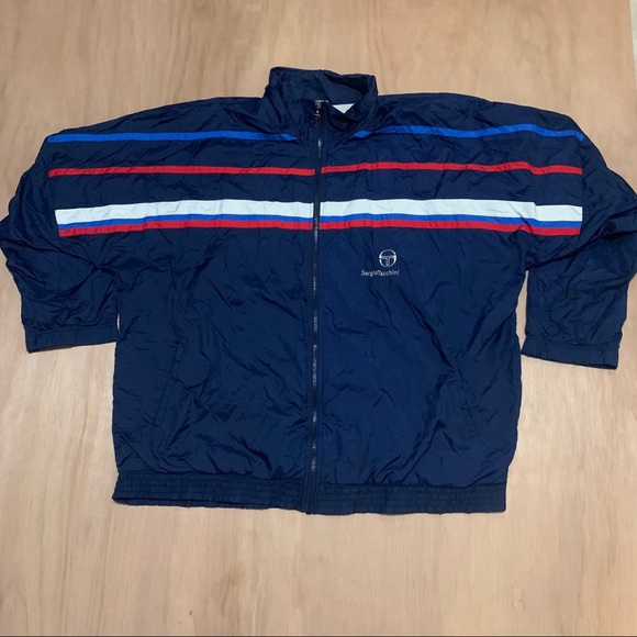 Authentic Sergio Taccchini Windbreaker Vintage 80s dxBCeWQro